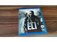 Book of Eli bluray dvd unused