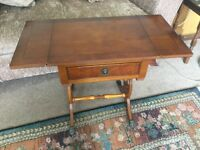 Occasional Table / Hall Table Fold down sides