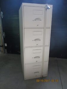 Heavy, Secure, 4 drawer Filing Cabinet
