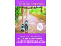 DifD 3mile sponsored walk to raise awareness for Depression.Fun day out for all...Bring a picnic!