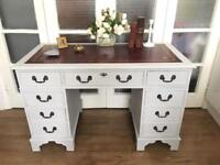 PEDESTAL DESK FREE DELIVERY LDN🇬🇧WRITING TABLE/CHEST