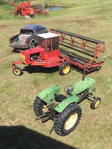John deere 710 tractor/crawler