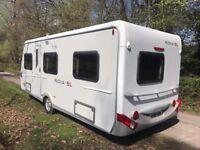 25ft hymer nova caravan 4 berth