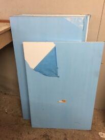 White High Gloss work tops / shelves x7