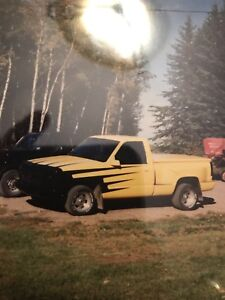 Looking for my dads old 1990 Chevy step side