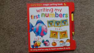 Early Days Magic Writing Book : Writing My First Numbers