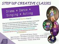 Drama and dance classes for ages 5+