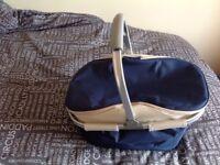 Collapsible Picnic cool bag / waterproof blanket / ice packs