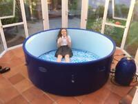 Lazy spa lay-z spa Monaco 8 person hot tub.