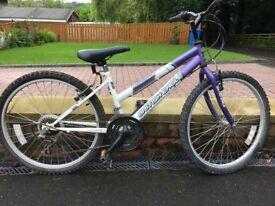 "British Eagle ""Reflection"" Girls/Ladies Mountain bike. 18 gears. 24 inch wheels"