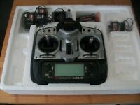 Radio control transmitter and receivers