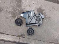 Bose car door speakers and sub subwoofer from mercedes kompressor c180