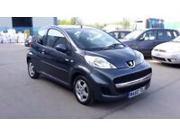 PEUGEOT 107, 1.0 LITRE, 60 REG 2010, LOW MILES ONLY 35000, £20 YEAR ROAD TAX