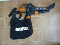 Worx all in one leaf blower / vac / mulcher Model WG501E