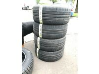 235/35/19 x4 continental tyres good tread