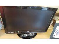 """26"""" LOGIK LCD DVD TV 9 MONTH OLD CAN DELIVER"""
