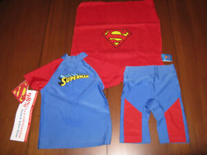 Superman Swim and Play suit. Size 3