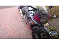 Honda CBR 600, well looked after and lovely 600cc motorbike, powerful and fast.
