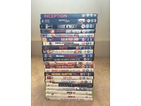 17 DVDs and 5 Xbox 360 games incl. special editions