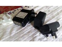 Usb Adaptors various brands and items: Blackberry/Apple/Asus/4port usb