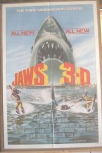 JAWS 3 D  released in 1983  #6778