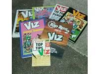 VIZ ANNUALS x 7 . 1 is signed