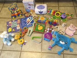 Tons of quality stuff for baby!