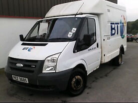 2007 Ford Transit T350m 100 Engineers Box Van for Auction