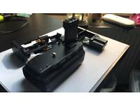Canon BG-E3 Battery Grip + 2 x NB-2LH Battery + 6 AA Battery holder For Canon EOS 350D 400D Camera