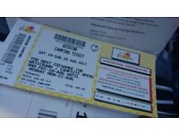 V - FESTIVAL Ticket, Weston Park, Weekend Ticket with Camping £199