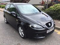 SEAT ALTEA 2.0 TDI SPECIAL EDITION DIESEL HEATED WHITE LEATHER REAR PARKING SENSORS FULL HISTORY