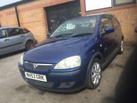Corsa Sxi 1.2 very clean car s/h 2 keys