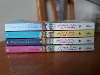 Set of Childrens books by Holly and Kelly Willoughby
