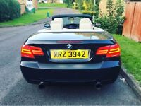 BMW Auto convertible 330D bhp268 msport idrive Swap p/x full service history lady owner