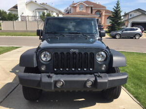 2016 Jeep Wrangler - Manual - GREAT CONDITION