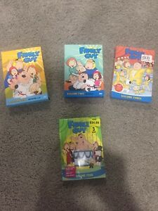 Family Guy Seasons 1-4 (all included in price)