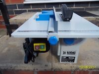 a small table saw like new