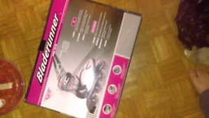 Ladies roller blades and pads