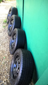 P185/60R14 Cooper CS4 Touring All Season Radials&Rims - Camrose