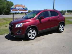 ***SOLD***2013 CHEVROLET TRAX***LTZ***HEATED LEATHER***