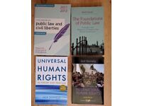 Human Rights & Public Law books £20 for all 4