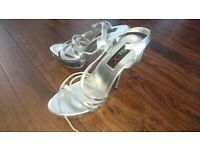 Size 5 pleaser style high heels