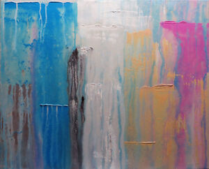 ORIGINAL ABSTRACT PAINTING - ABSTRACT ART - LOCAL ARTIST