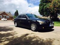 BMW 525D DIESEL AUTOMATIC BLACK/SAT NAVIGATION/FULL LEATHER/CLEAN IN OUT/START RUNS AS GOOD AS NEW