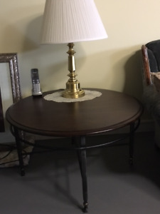 LIKE NEW Round Coffee Table