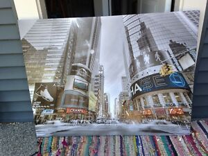 Large Times Square painting