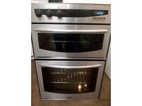 1 year old Eye level Digital Diplomat integrated double electric oven. Delivery