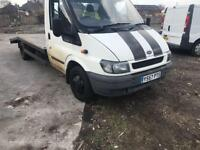 2001 Yreg Ford Transit Recovery Truck 2.4 Tdci Winch Alloy Ramps Drives Very well