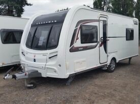 Coachman VIP 545/4 ( Island Bed, mid bathroom). 2015. Includes Motormover & Wet Central Heating.