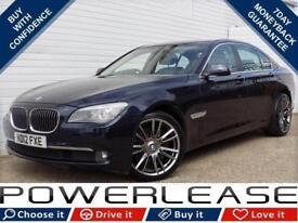 2012 12 BMW 7 SERIES 3.0 730D SE 4D AUTO 242 BHP DIESEL